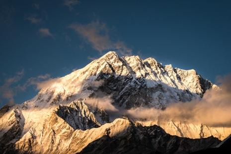 Himalaya Gipfel, Götter, Glücksmomente